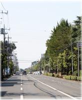 小泉町役場付近