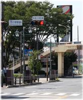 西小泉駅付近 国道354